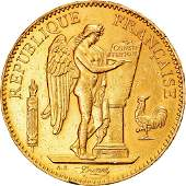 1882 Genie France Gold Coin