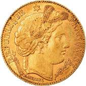 1899 Ceres France Gold Coin