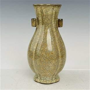 chinese guan kiln porcelain vase