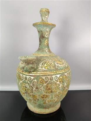 chinese bronze ware vase