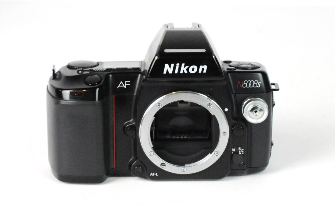 Nikon N8008s 35mm SLR Film Camera Body Only - 5