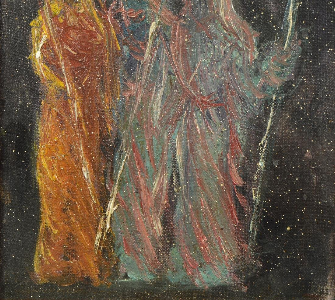 Painting Oil on Board signed Edwin Dickinson - 3