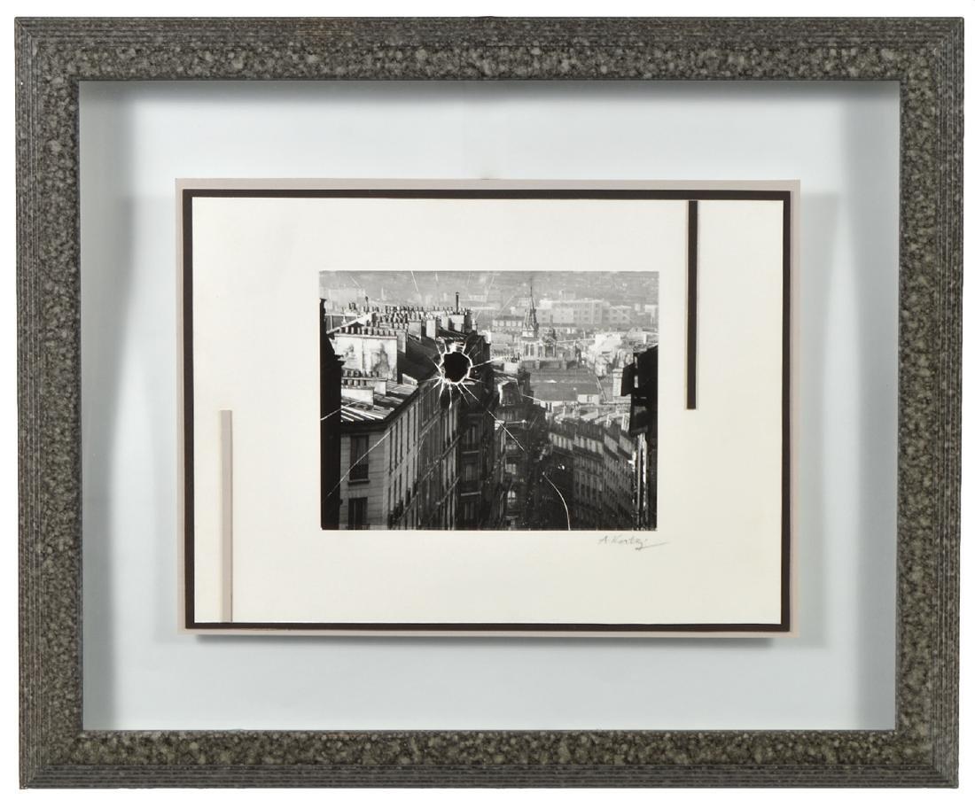 Andre Kertesz 'Broken Window' Paris 1929 Print