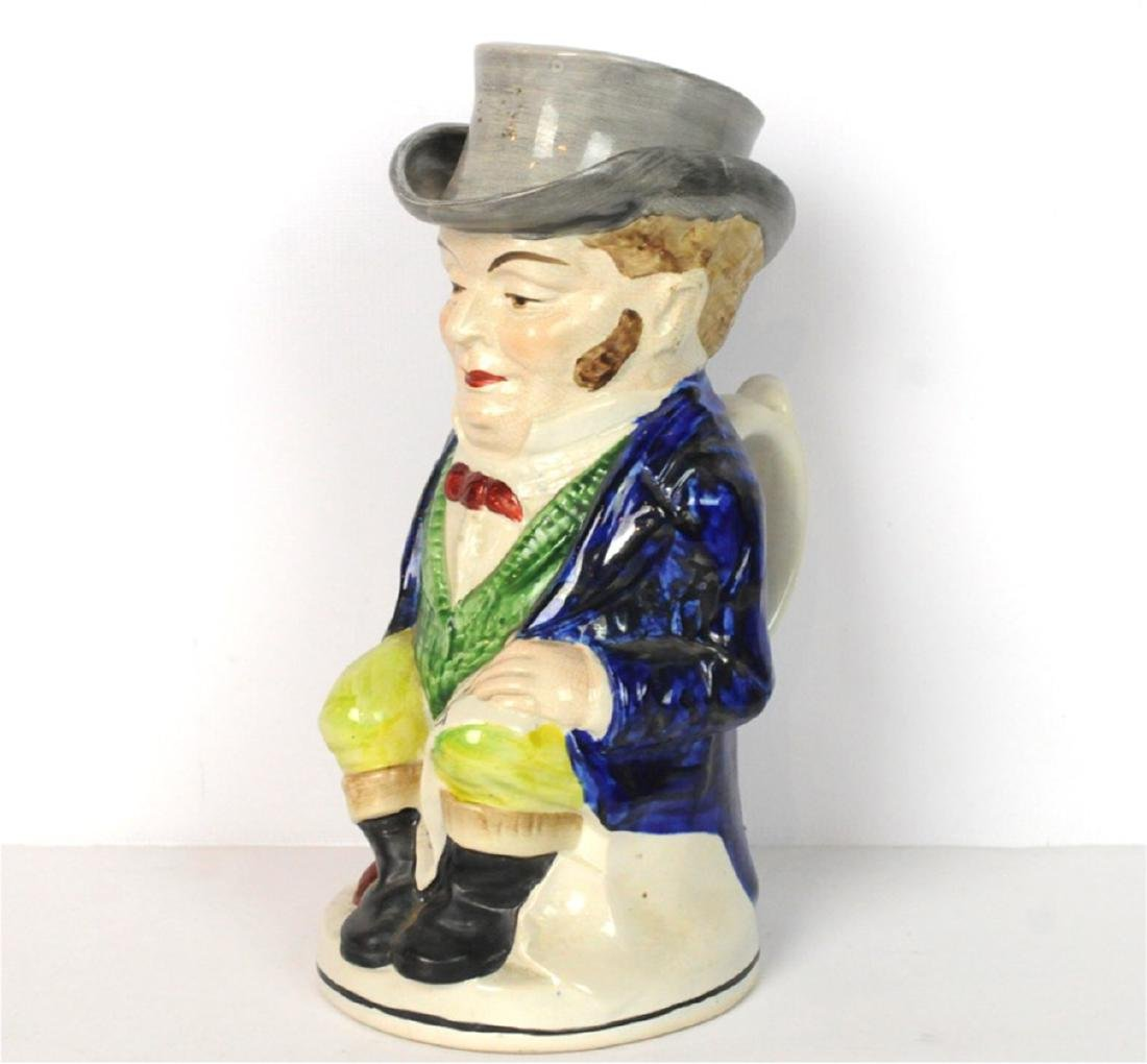 Staffordshire John Bull Toby Jug 1890 - 6