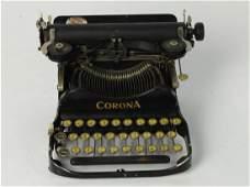 Antique Corona Typewriter Foldable & Portable 1917