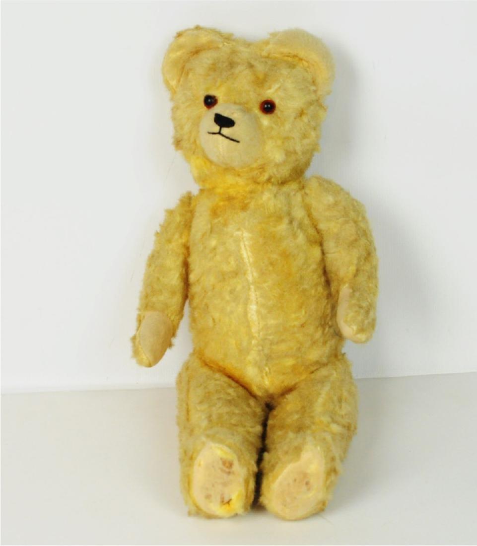 Steiff Mohair Glass Eyes Golden Teddy Bear 1890's - 7