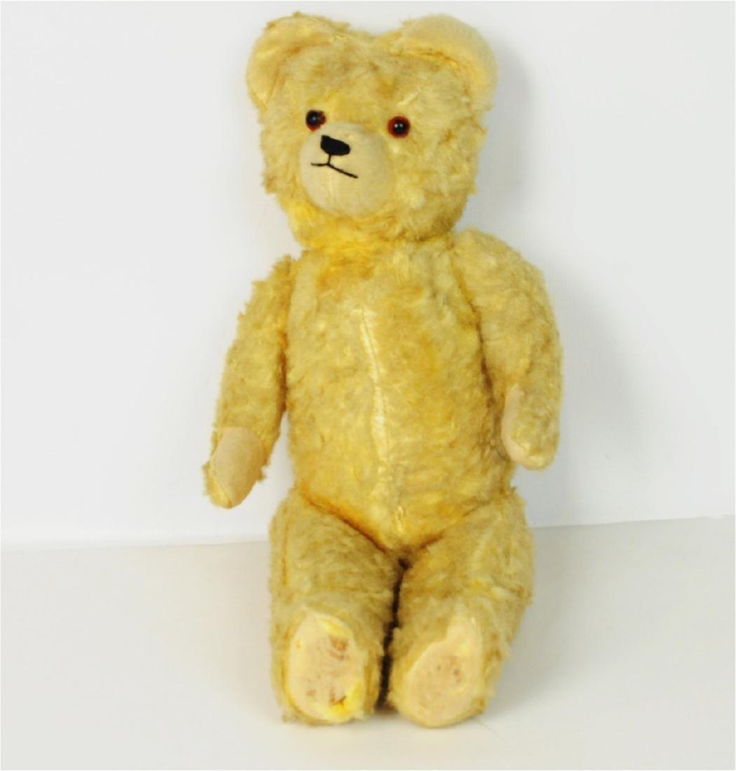 Steiff Mohair Glass Eyes Golden Teddy Bear 1890's