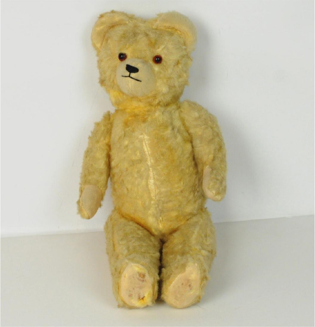 Steiff Mohair Glass Eyes Golden Teddy Bear 1890's - 2