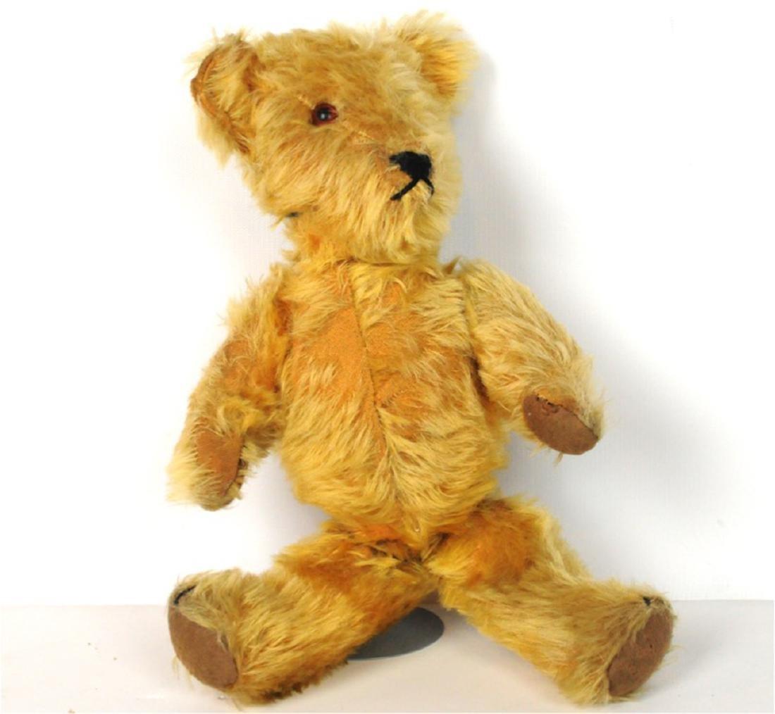 Steiff Mohair Glass Eyes Jointed Teddy Bear 1890's