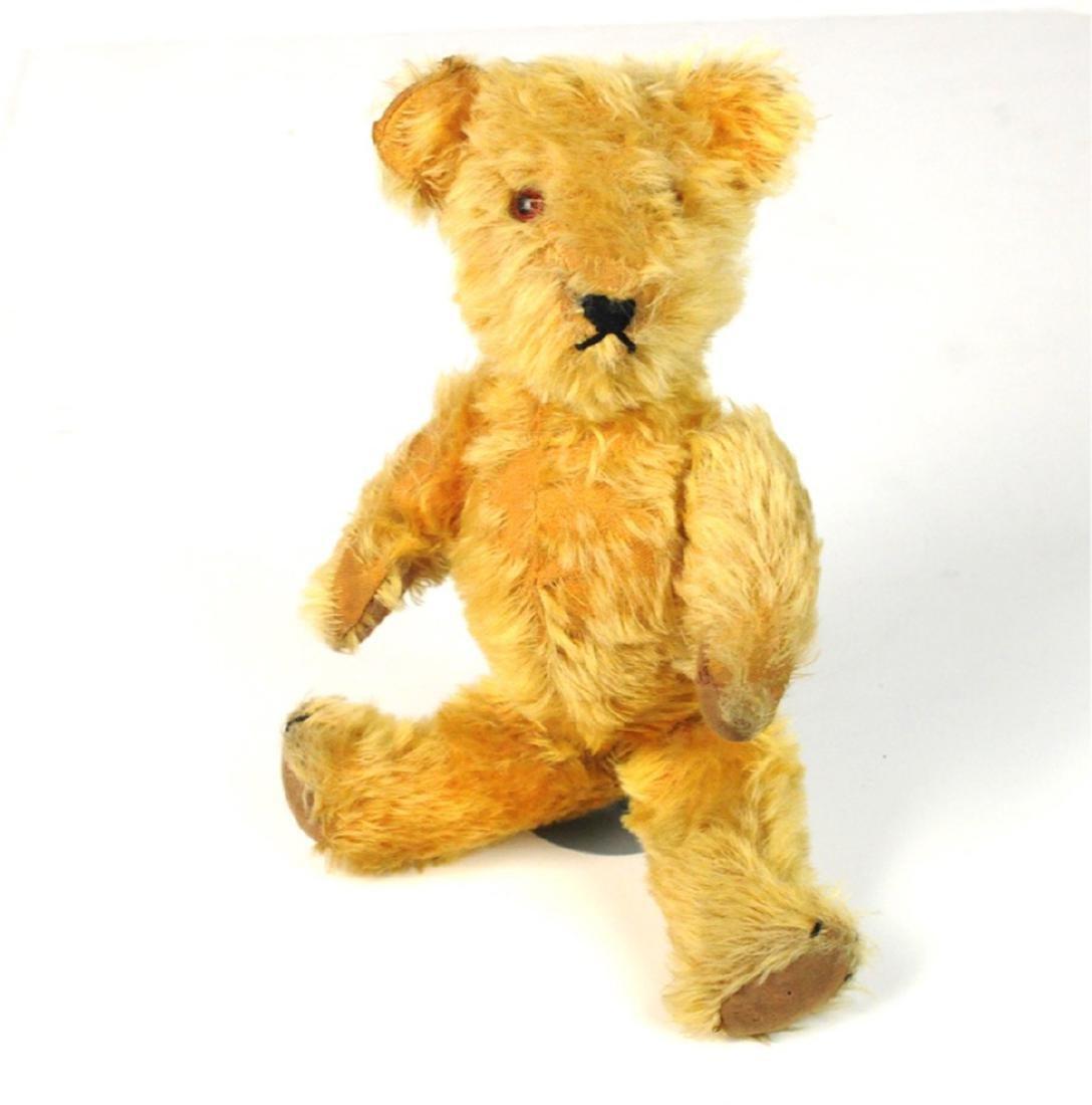 Steiff Mohair Glass Eyes Jointed Teddy Bear 1890's - 3