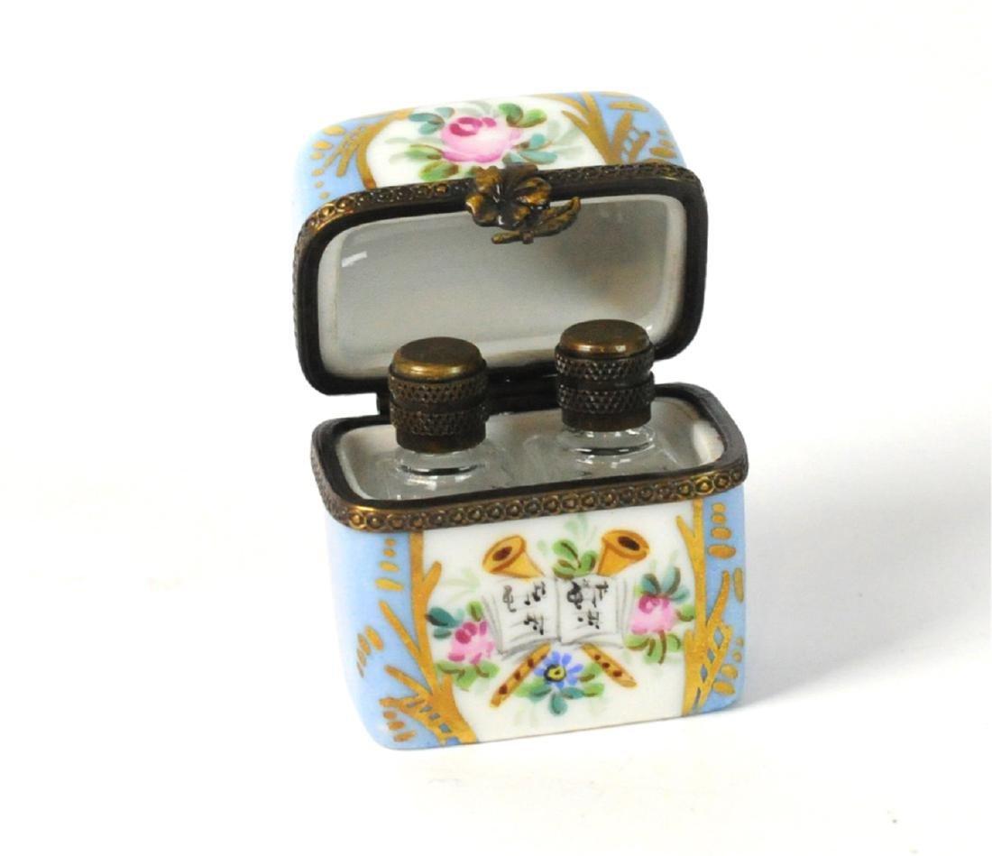 2 Limoges Mini Boxes Scent Box - 4