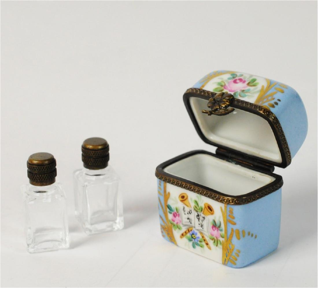 2 Limoges Mini Boxes Scent Box - 6