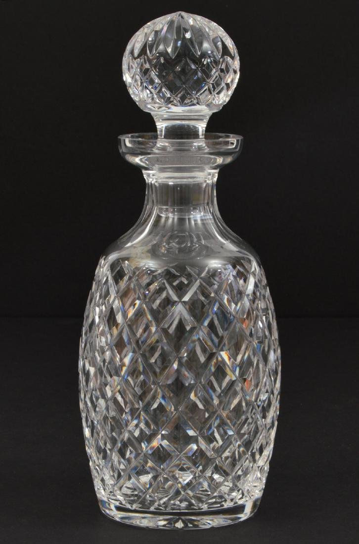 WATERFORD CRYSTAL DECANTER WITH STOPPER