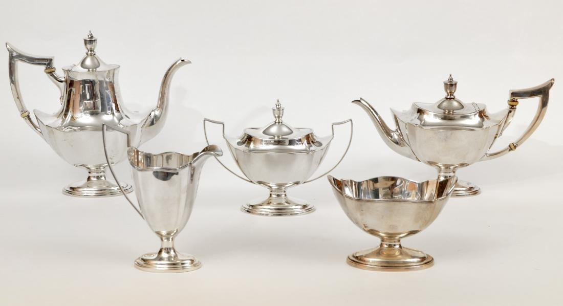Gorham Sterling Silver Coffee & Tea Set
