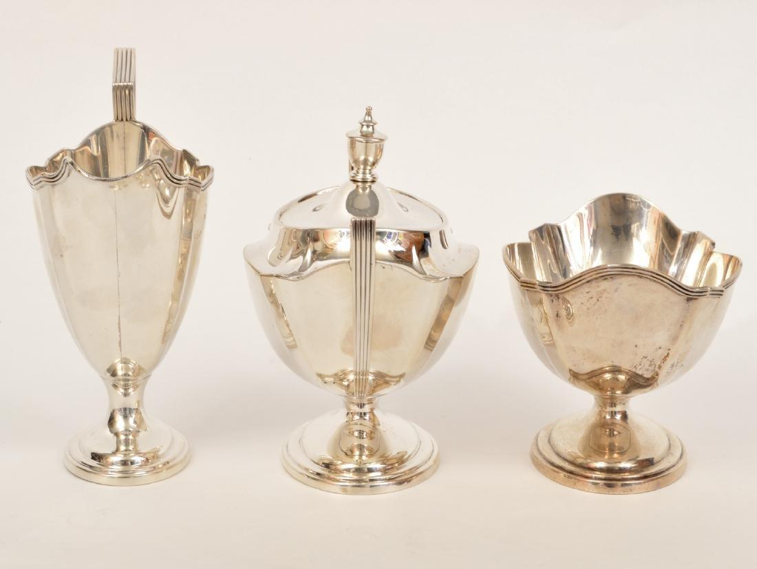 Gorham Sterling Silver Coffee & Tea Set - 4