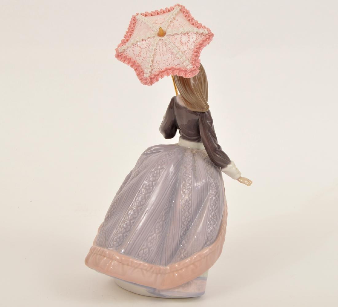 Lladro Angela with Parasol Porcelain Figurine 5211 - 3