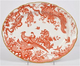 Royal Crown Derby Red Aves Dinner Service for 8 - Jan 21