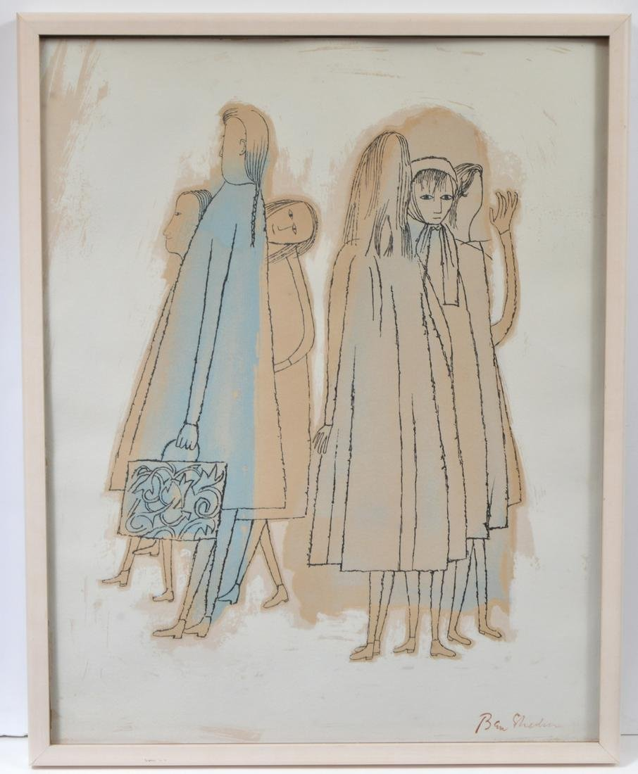Ben Shahn Lithograph on Paper