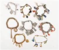 8 Vintage Charm Bracelets