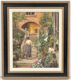 Donny Finley Oil Painting on Board Original
