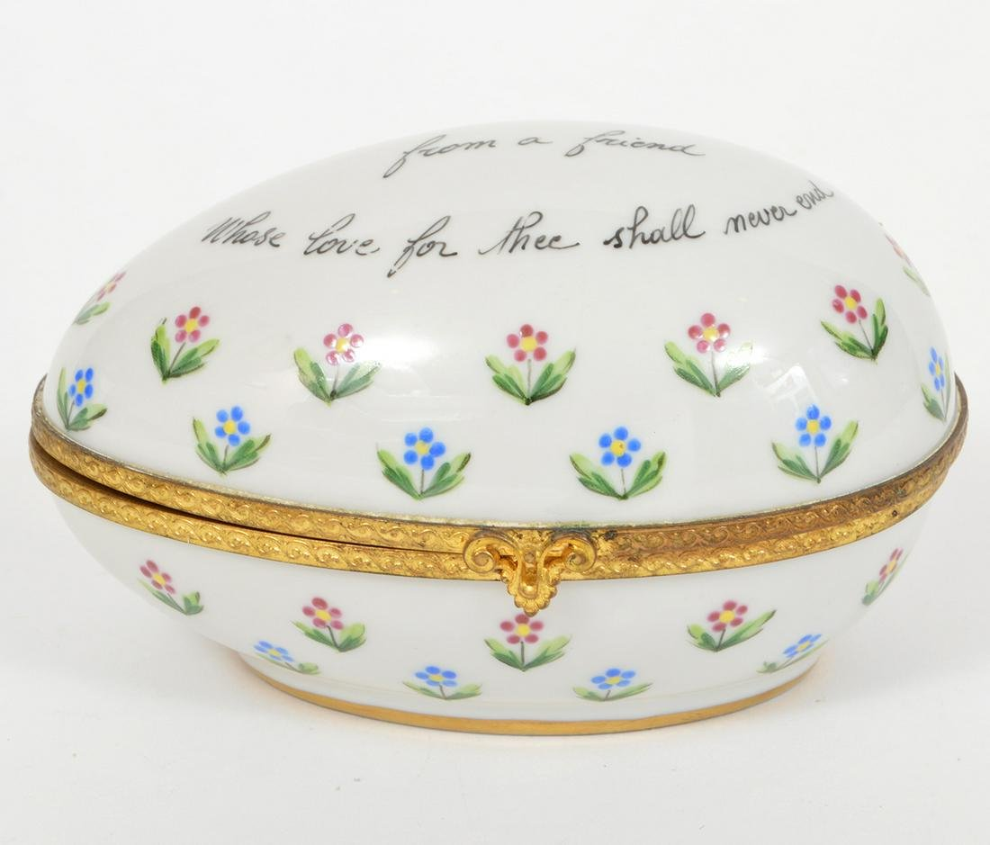 Tiffany & Co Private Stock French Egg Box