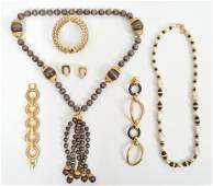 Kenneth Jay Lane KJL Jewelry Lot of 6