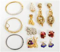 Lot of Mixed Costume Vintage Jewelry