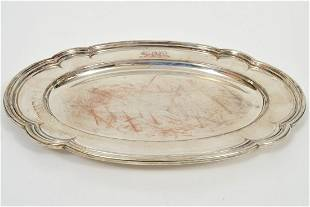 Gorham Sterling Silver Tray 426Toz