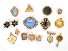Victorian Gold Filled Jewelry Assortment