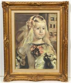 Wonderful Watercolor Painting Princess Margaret Theresa