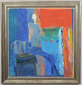 Richard Bilan Abstract Oil Painting