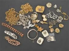 Lot of Vintage Designer Signed Jewelry
