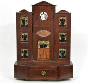 19th Ct. English Architectural Form Watch Hutch
