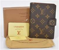 Louis Vuitton Monogrammed Agenda  Address Book