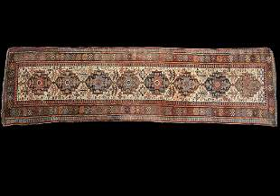 Semi-Antique Oriental Runner Carpet