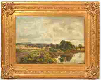 William Beattie Brown 'On the Banks of the Almond'