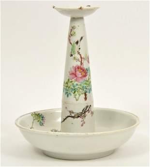 Chinese Ceramic Candleholder