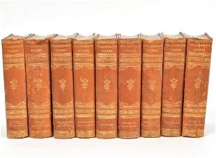 9 Vols. William Makepeace Thackeray 1887