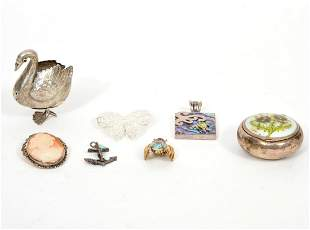 Mixed Lot of Jewelry and Trinkets