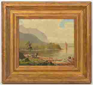 19th Ct. Signed Continental Oil Painting