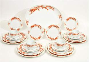 Fukagawa Tiffany & Co Porcelain Service for 4