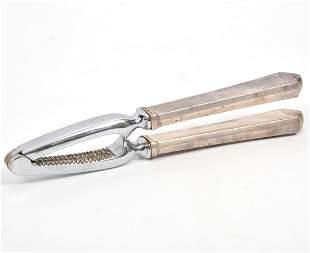 Hans Hansen Danish Sterling Silver Nut Cracker