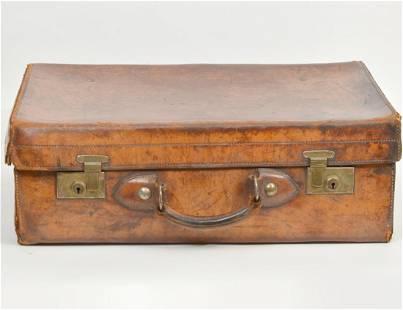 Vintage Walker & Hall Overnight Suitcase