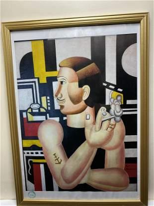 Piet Mondrian, Original lithograph, Limited Edition,