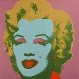 Andy Warhol  Marilyn Monroe 1967 FS 28. Silkscreen