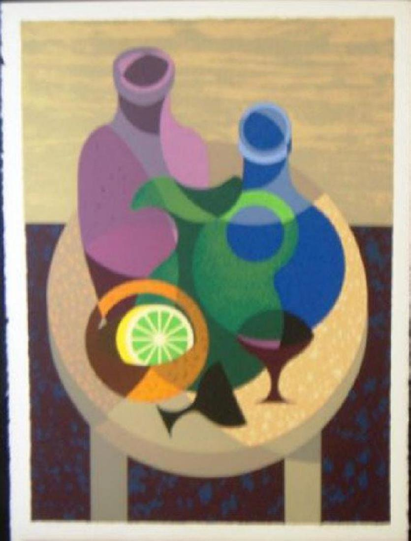 "Flavio Cabral ""Decorative Bottles"" HS/ # serigraph"