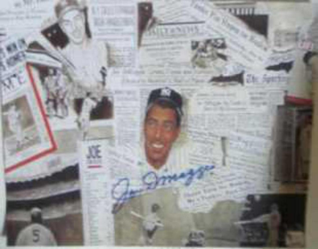 Joe DiMaggio Autographed signed 8x10 Photo