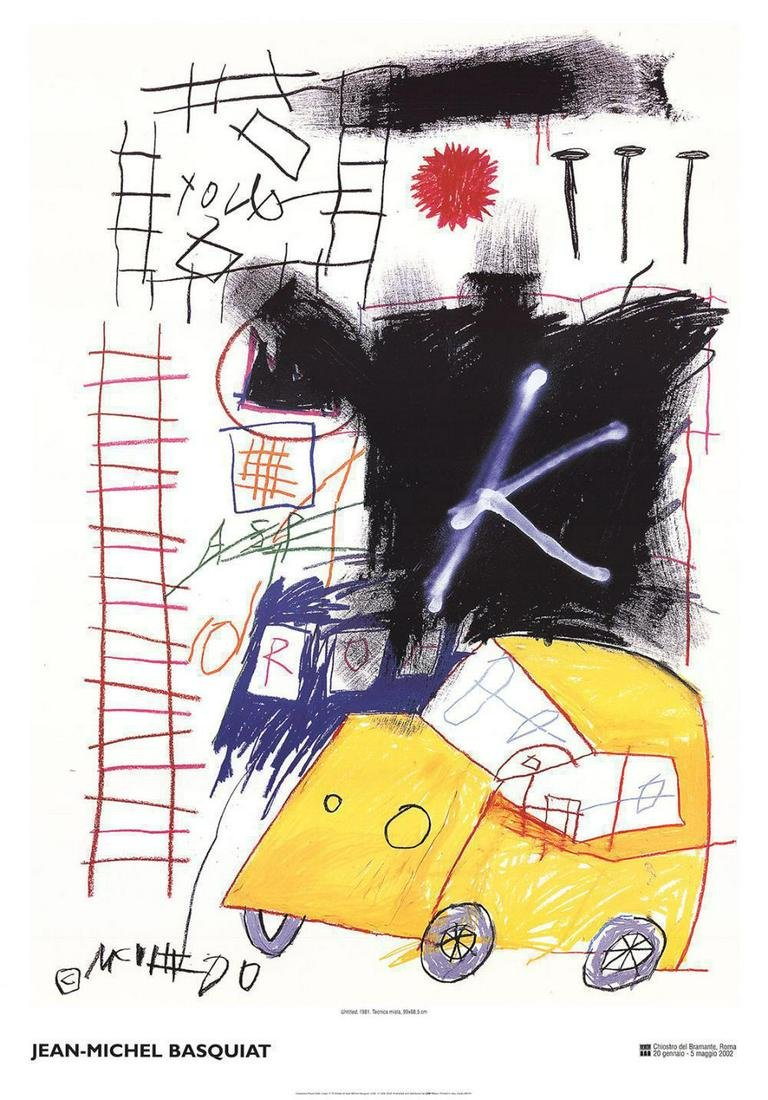 Jean-Michel Basquiat-Untitled-2002 original offset
