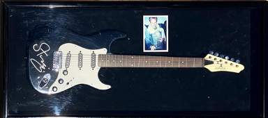 THE POLICE STING Autographed Signed Guitar, sotheby's