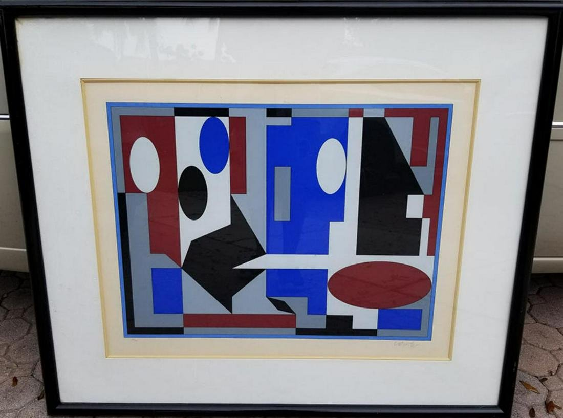 Victor Vasarely 1906-1997, Pencil signed and numbered